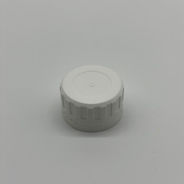 38MM White Tamper Evident Cap
