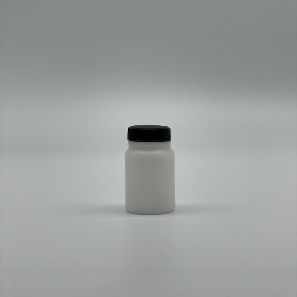50ML Natural Wide-Mouth Plastic Bottle