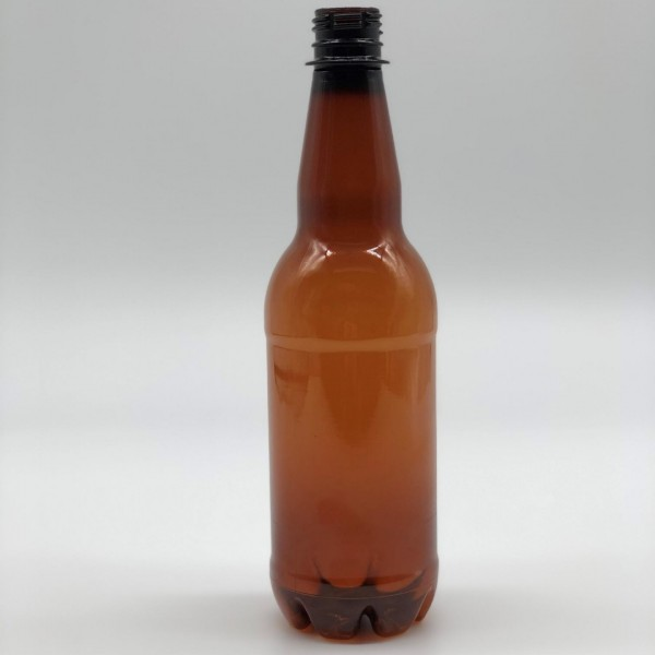 500ML Amber Beer PET Bottle