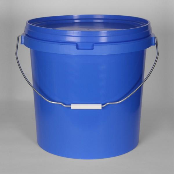 25L Round Blue Bucket
