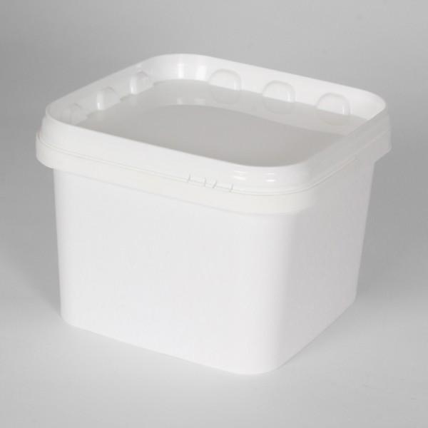 3.5L Square White Bucket