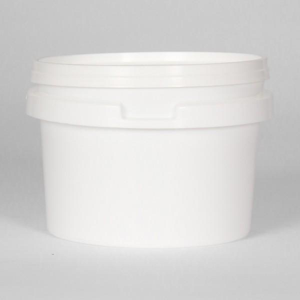 500Ml Round White Bucket
