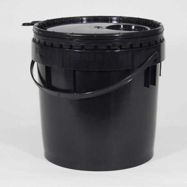 10L Black Un Bucket For Liquids