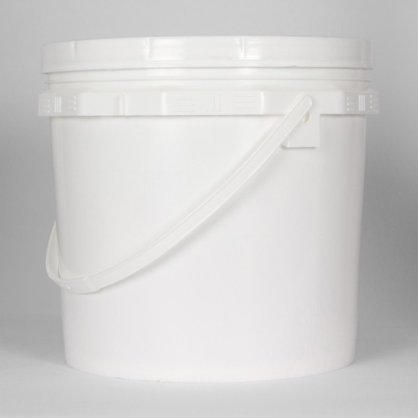 15L White Un Bucket For Solids