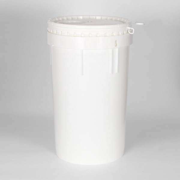 20L White Un Bucket For Liquids & Solids