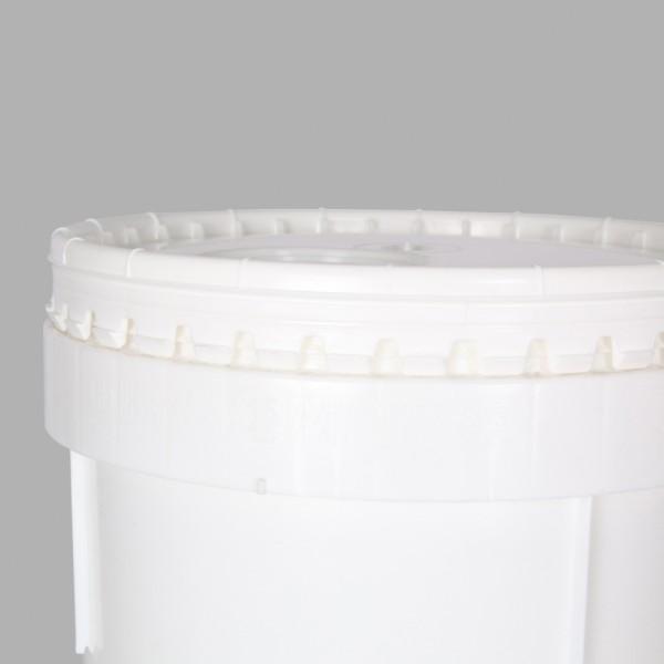 20L White Un Bucket For Liquids & Solids