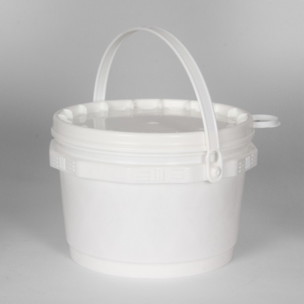 3L White Un Bucket For Solids