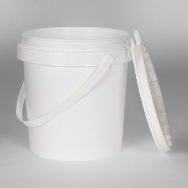 5L White Un Bucket For Solids