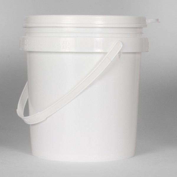 5L White Un Bucket For Solids