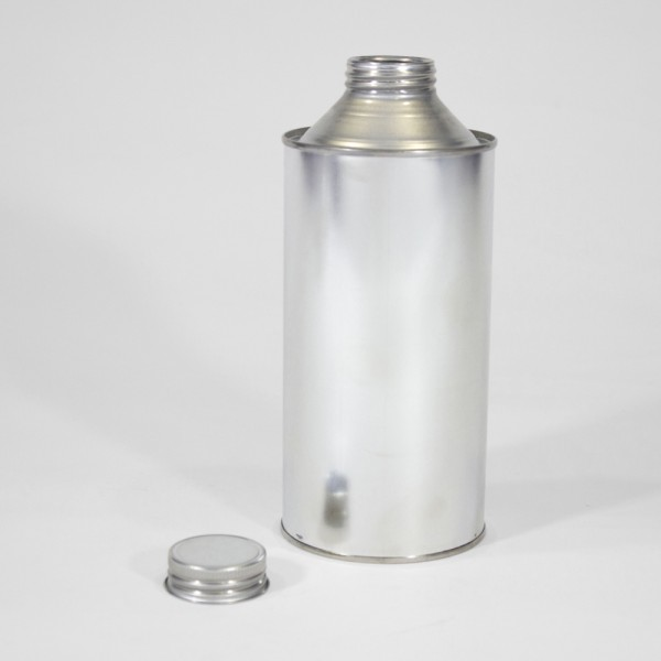 1L Cone Top Tin w/Plain Interior