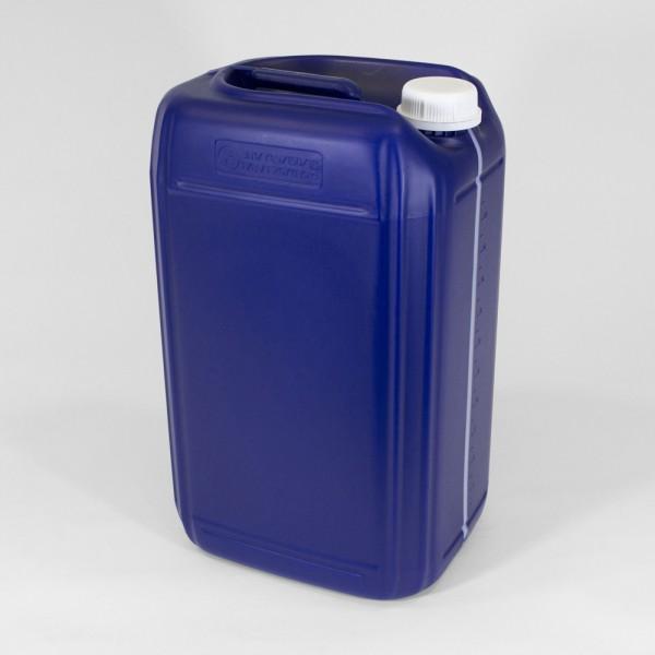 25L Blue UN Jerry Can W/Visi Stripe