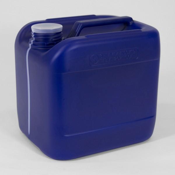 6L Blue UN Jerry Can W/Visi Stripe