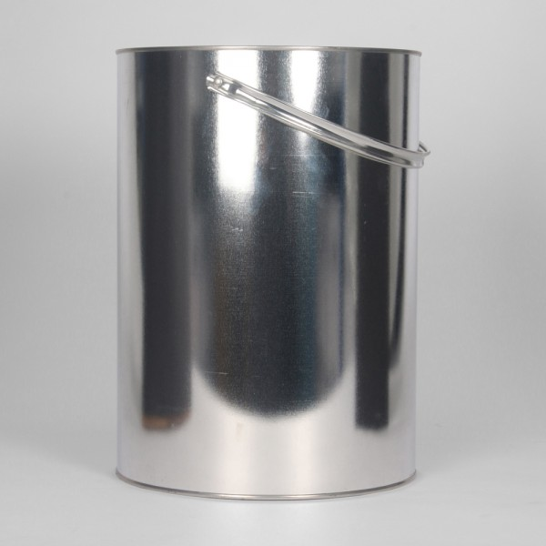 10L Plain Lever Lid Tin