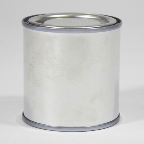 125ML Plain Lever Lid Tin
