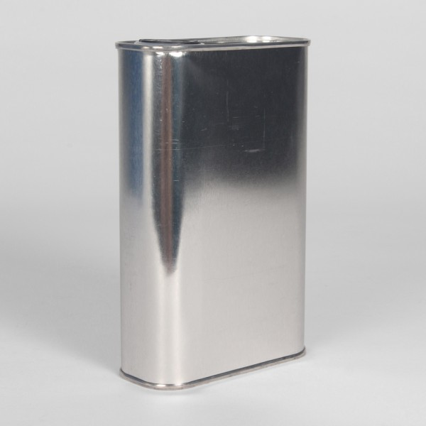 500ML Plain Oblong Can W/24MM Berg Neck