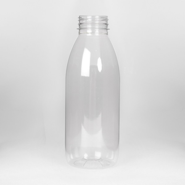 1L Clear Round PET Bottle