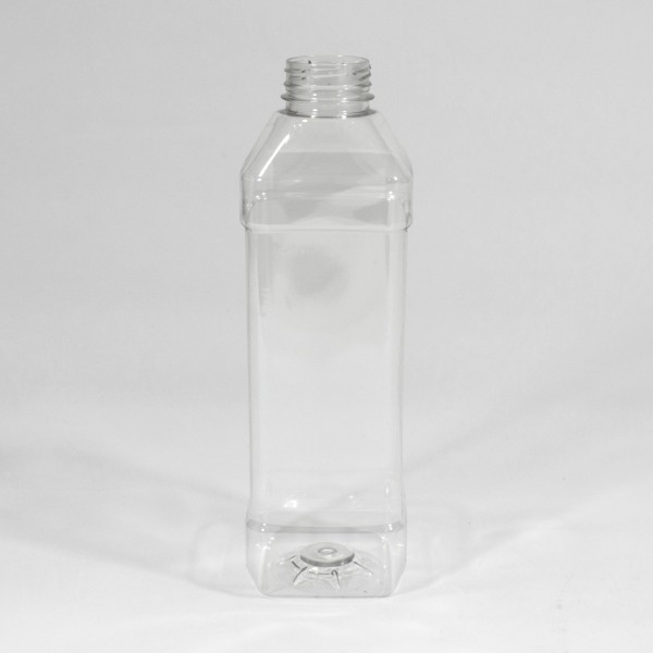 1L Clear Square PET Bottle