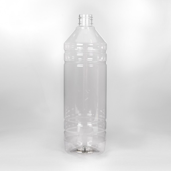 1L Clear White Spirit PET Bottle
