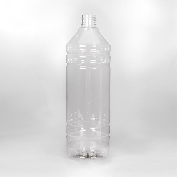 1L Clear White Spirit PET Bottle