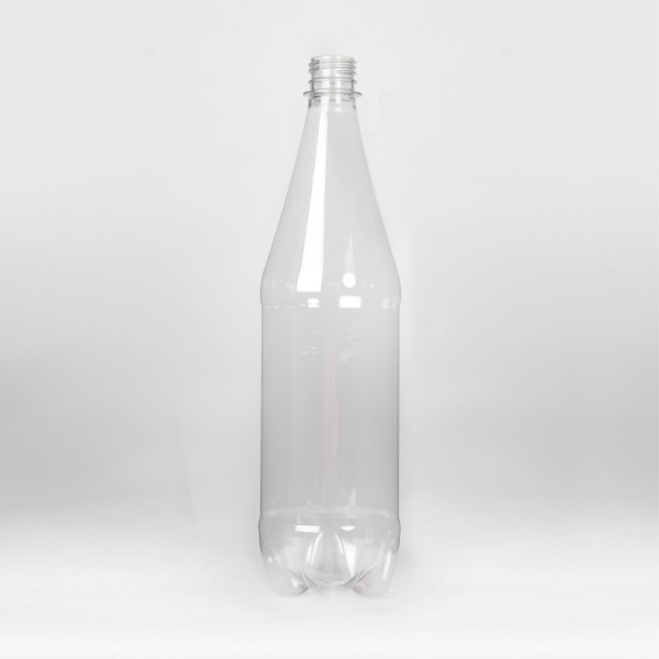 1L Clear Round Water PET Bottle