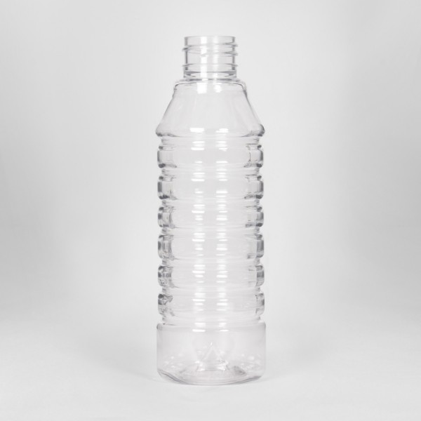 250Ml Clear White Spirit PET Bottle