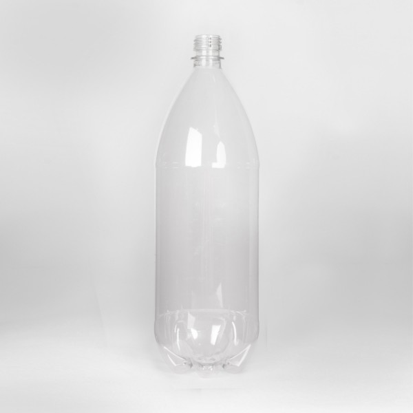 2L Clear Round PET Bottle