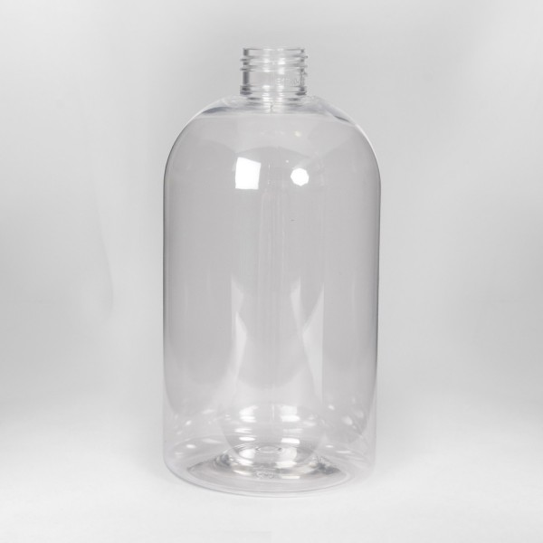 500Ml Clear Boston PET Bottle
