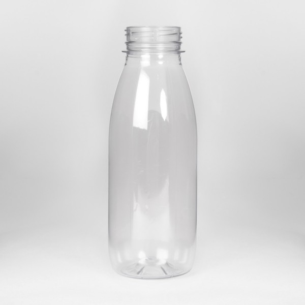 500Ml Clear Round PET Bottle