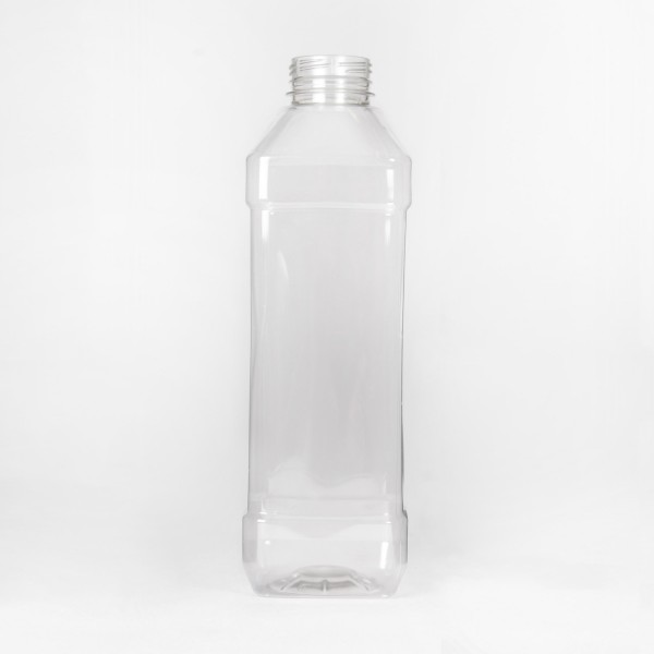 500Ml Clear Square PET Bottle