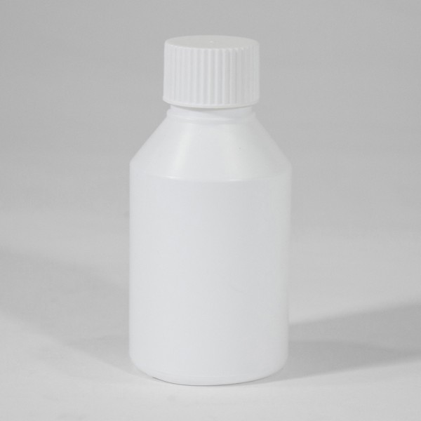 150ML White Standard Plastic Bottle