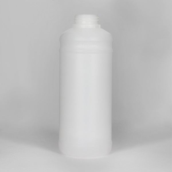 1L Natural Fluorinated UN Plastic Bottle