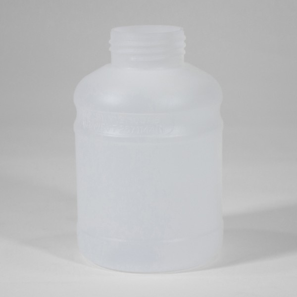 500ML Natural Fluorinated UN Plastic Bottle