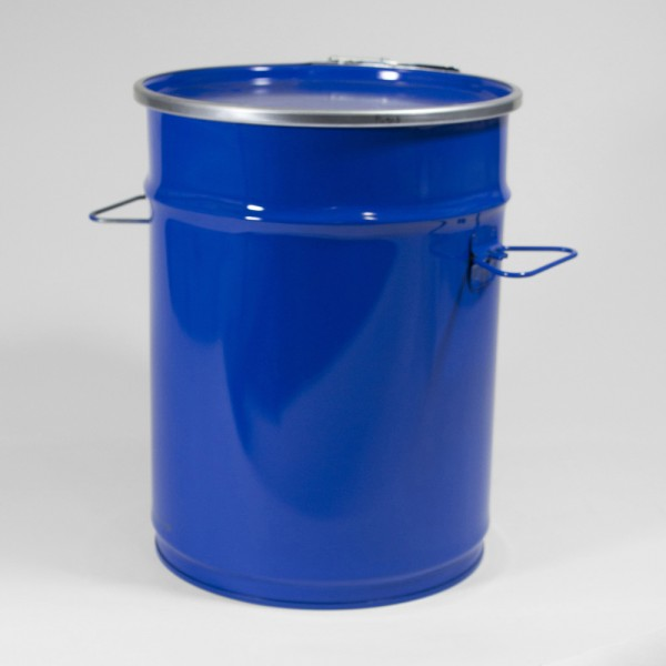 "12"" X 16"" (26L) Blue Open Top Keg"