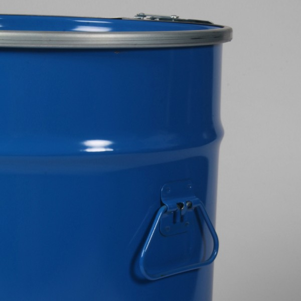 "14"" X 23"" (52L) Blue Open Top Keg"