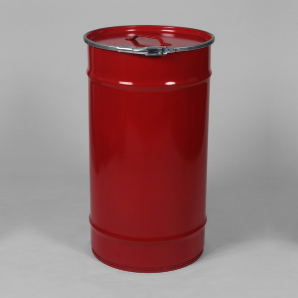 "14"" X 26"" (59.5L) Red Open Top Keg"