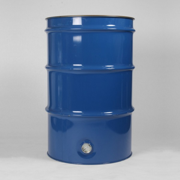 205L Blue Open Top Agitator Drum