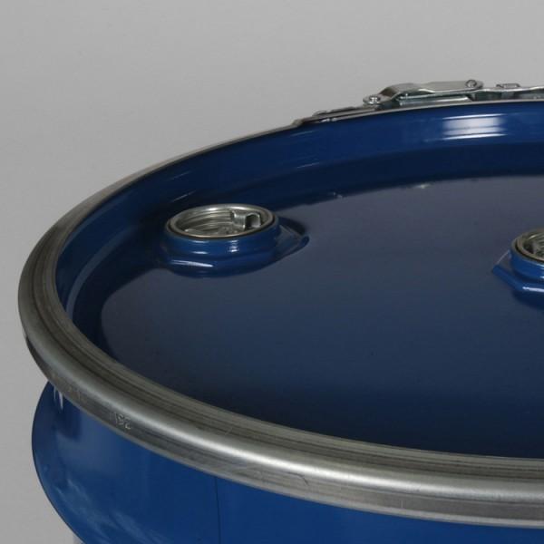 205L Blue Open Top Agitator Drum