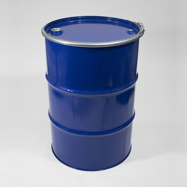 205L Blue Open Top Drum For Liquids