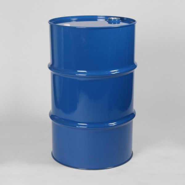 115L Tight-Head Blue Drum W/Lacquered Interior