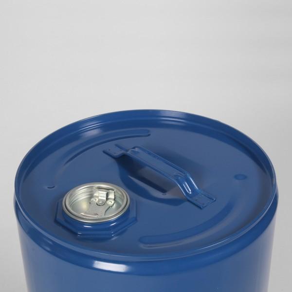 25L Tight-Head Blue Drum W/Body Bung