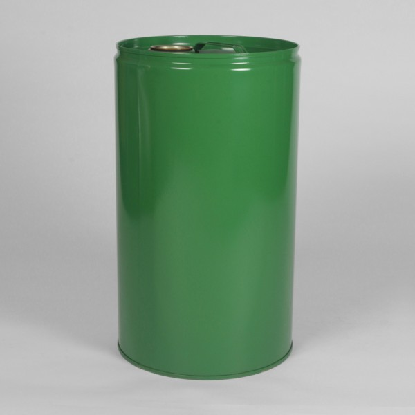 25L Tight-Head Green Drum W/Lacquered Interior